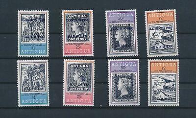 LO15729 Antigua & Barbuda first stamp anniversary fine lot MNH