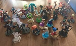 Bulk lot Disney Infinity 34 characters & bag Tapping Wanneroo Area Preview