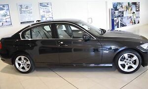 2011 BMW 320i BLACK Cream Internal LUX Seat Killarney Heights Warringah Area Preview