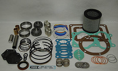 Quincy 390 22-23 Record Of Change Major Overhaul Kit Air Compressor Parts