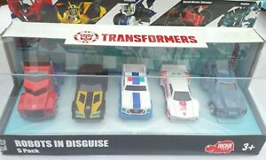 Transformers Robots In Disguise 5 Pack Die Cast Vehicles Dickie toys