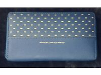 PIQUADRO Pulse Women/'s Wallet Horizontal Geldbörse Nero Schwarz Grau Neu