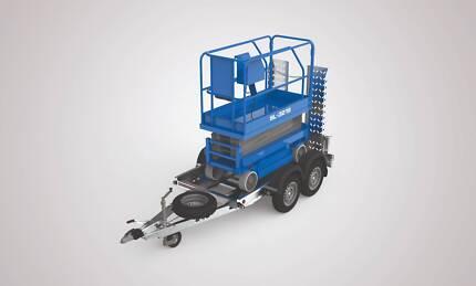 SCISSORLIFT / MINI EXCAVATOR TRAILER - 2600KG  NO ELECTRIC BRAKES Wangara Wanneroo Area Preview