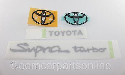 "Toyota Logo Emblem Graphic Vinyl Decal 1/"" X 6/"" TACOMA TUNDRA SUPRA Free Shipping"