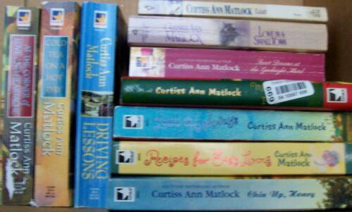 10 Curtiss Ann Matlock novels