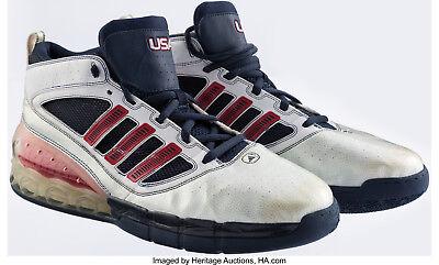 2008 Dwight Howard Game Worn Summer Olympics Sneakers Mears   Heritage COA ee8184507