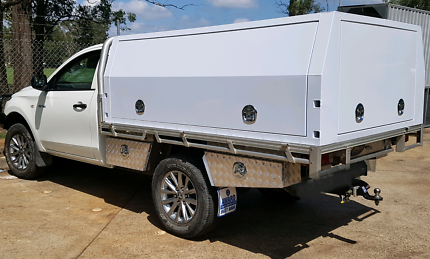 Toolbox ute New jackoff aluminium ute canopy 1800x1800x860x2.5 & ute canopy | Parts u0026 Accessories | Gumtree Australia Free Local ...