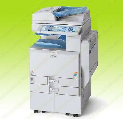 Ricoh Aficio Mp C4500 Color Tabloid Copier Printer Scanner All-in-one 45ppm
