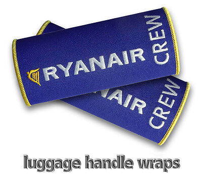 Ryanair Crew Luggage Handle Wraps X2