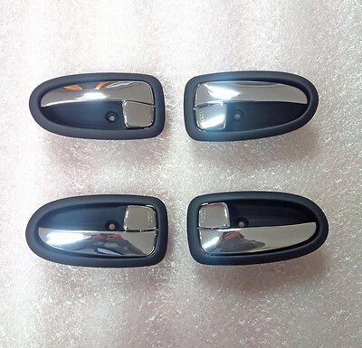 OEM Genuine Chrome Inside Door Catch 4p 1set For Hyundai Matrix : Lavita