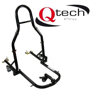 Motorcycle REAR STAND Paddock Lift Moveable Toad Trolley / Dolly