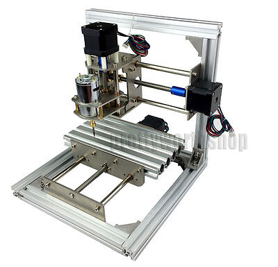 CNC Mini Milling Engraving Machine 3 Axis Router Kit DIY Wood Graveurausstattung