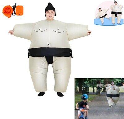 Adult/Teen Japanese Wrestling Sport Sumo Wrestler Inflatable Chub Suit Costume](Inflatable Sumo Wrestler Costume)