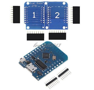 Esp8285 Wemos D1 Ch340 Wifi Board Double Socket Base Shield For Arduino Esp8266