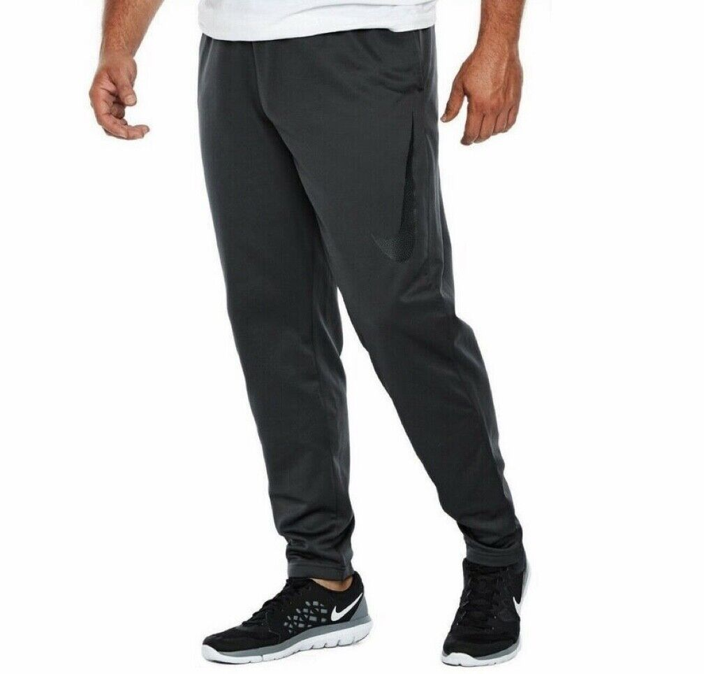 Nike Mens Sweat Pants Dri-Fit Workout Gray NWT Size 4XL