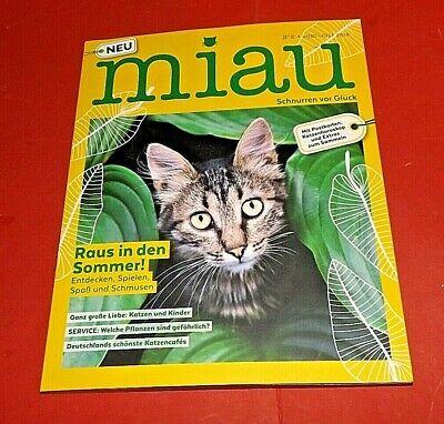 Miau Nr.2 Juni/Julie 2019 Raus in den Sommer