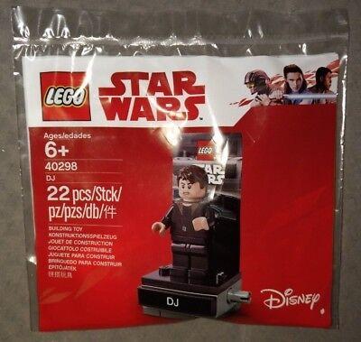 LEGO Star Wars 40298 DJ Polybag *BRAND NEW SEALED BAG*