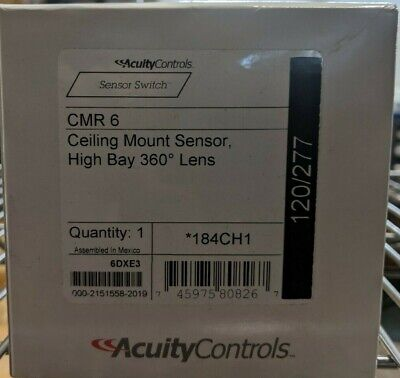 Sensor Switch Cmr 6 High Bay Sensor. Ceiling Mount Occupancy Sensor Brand New.