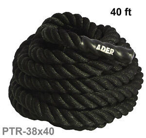 Ader-40-ft-x-1-5-Poly-Cross-fit-Battle-Training-Power-Ropes-PTR-38X40