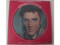 ELVIS PRESLEY LIMITED EDITION PICTURE DISC ALBUM