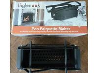 Inglenook Eco Briquette Maker - new and unused, still in box