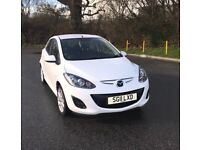 Mazda 2 Tamura White - Low mileage, good condition, built in multimedia system