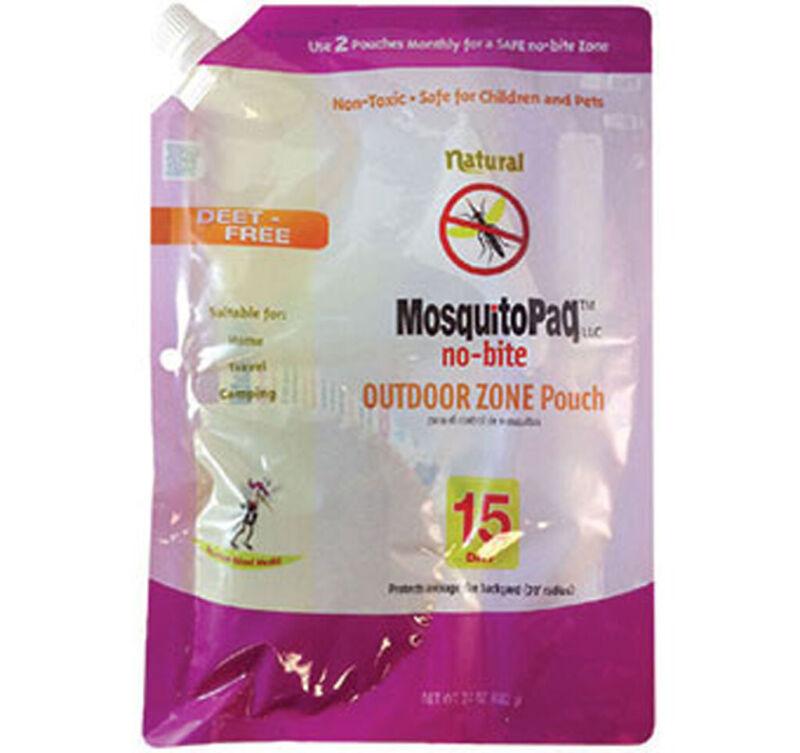 MosquitoPaq No Bite 15 Days Outdoor Zone Mosquito DEET Free Non Toxic Camping