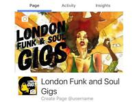 London Funk and Soul Gigs