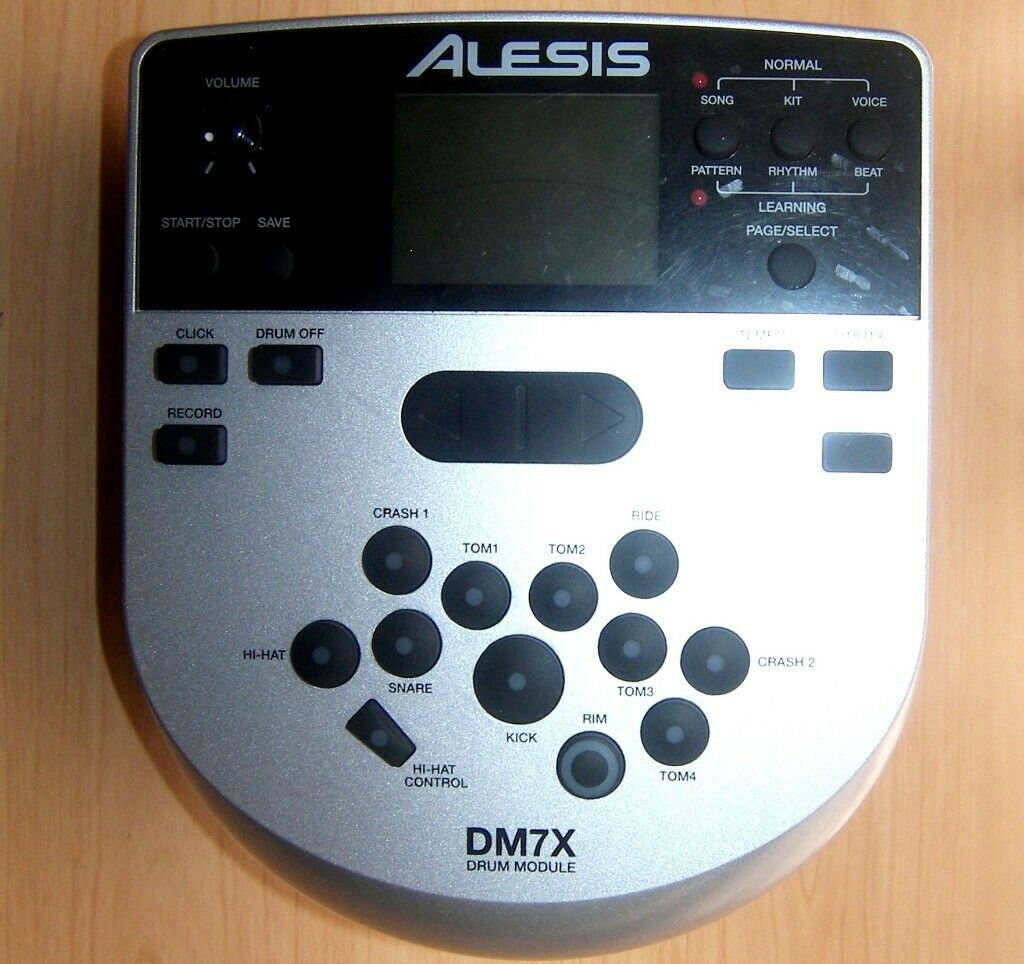 Alesis DM7X , DM 7X - High Definition Drum Module for Electronic Drum Kit  with 385 Dynamic Sounds  | in Bristol | Gumtree