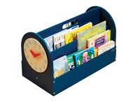 Tidy Books bookcase or storage with clock - excellent condition RRP £79