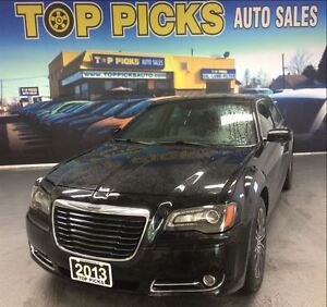 2013 Chrysler 300 S GLACIER, AWD, LEATHER, SUNROOF, NAVIGATION!