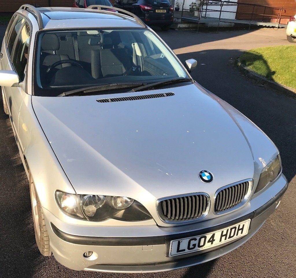 BMW 316i SE Manual, 2004, Silver - Spares or Repair - Petrol