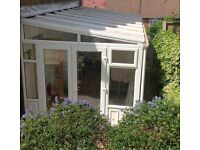 """UPVC """"Lean To"""" Conservatory 6 metres by 2.7 metres. Feel free to make an offer."""