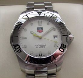 Tag Heuer Aquaracer Gents Watch Silver Dial WAB1111 **Buy Online**