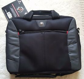 Wenger SwissGear Sherpa 13.3 Inch Double Laptop Slim Durable Carry