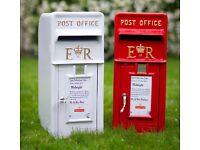 Royal Mail Wedding Post Box's