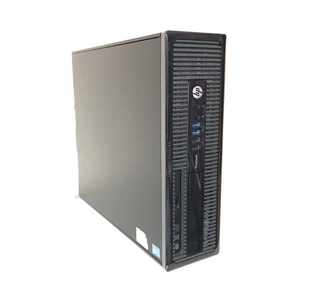 Verbazingwekkend HP PRODESK 400 G1 SFF i3-4170T 4th Gen 8GB RAM 1TB HDD PU-62