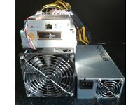 1x Bitmain L3+ 504MH/s Antminer and 1x APW3++ PSU