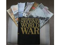 History of Second World War published by Purnell 1966 in magazine form, 101 of 112 issues