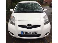2011 Toyota Yaris Sat Nav FTSH 1 Owner £30 Tax 1.0 VVTI 5 Door T Spirit Parking Sensors Alloys