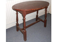 Oval Occasional Table - To Paint