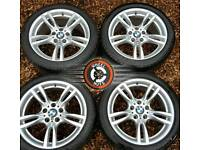 "18"" Genuine BMW M Sport 3 ser alloys, staggered, perfect cond, matching premium tyres."