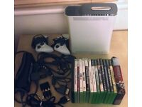 xBox 360 Controllers Leads 16 Games Job Lot £50 ONO