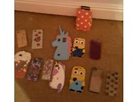Bundle of phonecases ipod cases