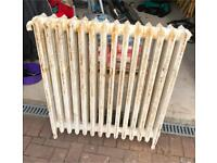 Cast iron radiator (free standing) (possible delivery available)