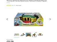 Thomas and friends adventures - Brand new Tidmouth sheds