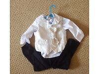 18 to 24 months page boy or Christening outfit by Paisley of London