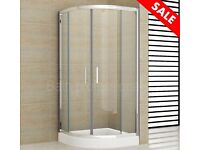 NEW 700x700 Shower Enclosure Bathroom Tray Corner Cubicle Screen Doors Quadrant Shower cabin