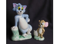 WADE PORCELAIN FIGURES OF TOM AND JERRY for sale  Stoke-sub-Hamdon, Somerset