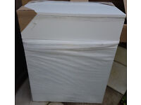 Cassellie Kass Gloss White WC Bathroom Unit 600mm